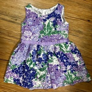 The Children's Place Sleeveless Floral Dress [2T]